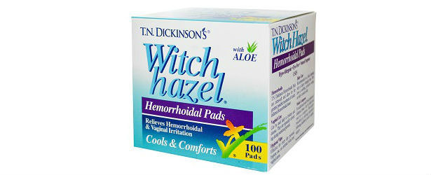 T.N. Dickinson's Hemorrhoid Pads Review 615