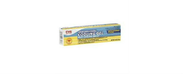 CVS Hemorrhoidal Cooling Gel with Vitamin E Review