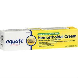 Cream hemorrhoids