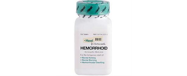 Heel BHI Hemorrhoid Treatment Review