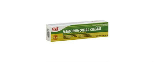 The CVS Hemorrhoidal Cream With Aloe Review